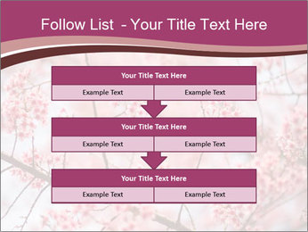 Beautiful cherry blossom PowerPoint Template - Slide 60