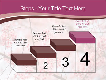 Beautiful cherry blossom PowerPoint Templates - Slide 64