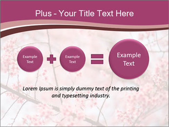 Beautiful cherry blossom PowerPoint Template - Slide 75