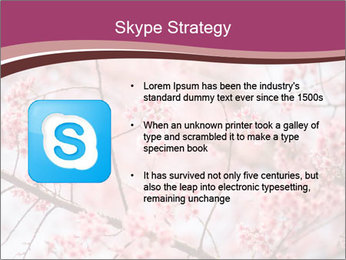Beautiful cherry blossom PowerPoint Template - Slide 8