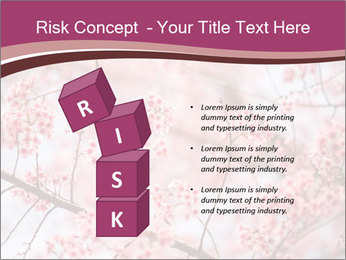 Beautiful cherry blossom PowerPoint Templates - Slide 81