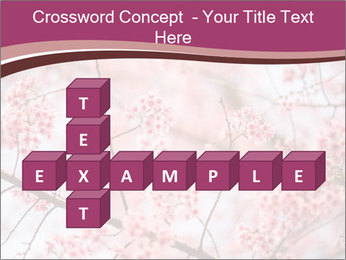 Beautiful cherry blossom PowerPoint Template - Slide 82