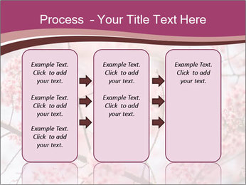 Beautiful cherry blossom PowerPoint Templates - Slide 86