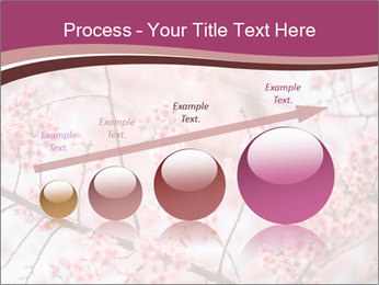 Beautiful cherry blossom PowerPoint Templates - Slide 87