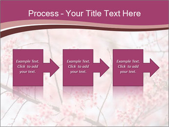 Beautiful cherry blossom PowerPoint Templates - Slide 88