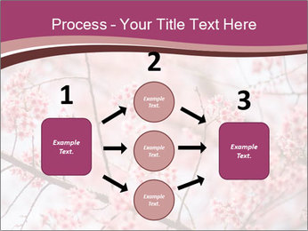 Beautiful cherry blossom PowerPoint Template - Slide 92