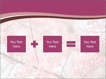 Beautiful cherry blossom PowerPoint Templates - Slide 95
