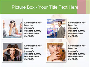 Beautiful sad woman PowerPoint Templates - Slide 14