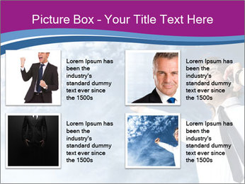 Successful business man PowerPoint Template - Slide 14