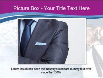 Successful business man PowerPoint Template - Slide 15