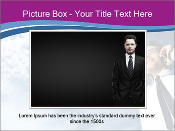Successful business man PowerPoint Template - Slide 16