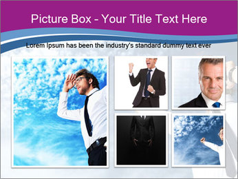 Successful business man PowerPoint Template - Slide 19