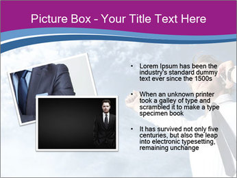 Successful business man PowerPoint Template - Slide 20