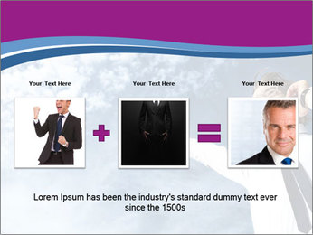 Successful business man PowerPoint Template - Slide 22