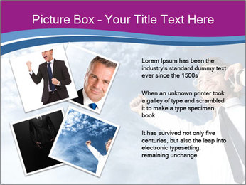 Successful business man PowerPoint Template - Slide 23