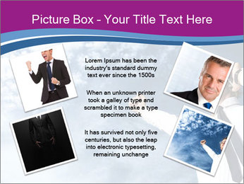 Successful business man PowerPoint Template - Slide 24
