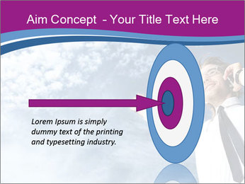 Successful business man PowerPoint Template - Slide 83