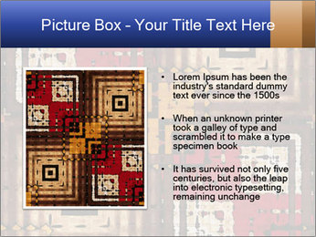 National traditional geometric pattern PowerPoint Template - Slide 13