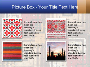 National traditional geometric pattern PowerPoint Template - Slide 14