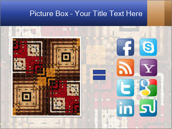 National traditional geometric pattern PowerPoint Template - Slide 21