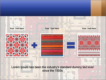 National traditional geometric pattern PowerPoint Template - Slide 22