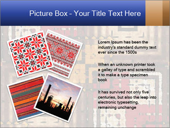 National traditional geometric pattern PowerPoint Template - Slide 23