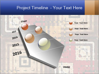 National traditional geometric pattern PowerPoint Template - Slide 26