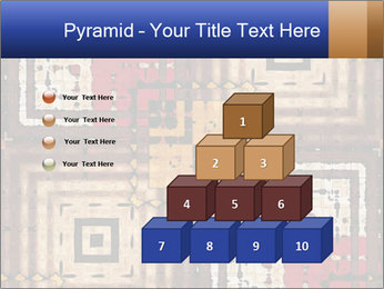 National traditional geometric pattern PowerPoint Template - Slide 31