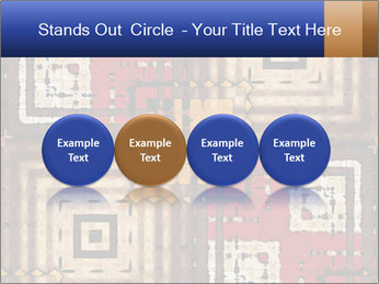 National traditional geometric pattern PowerPoint Template - Slide 76