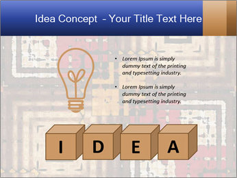 National traditional geometric pattern PowerPoint Template - Slide 80