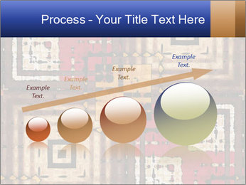 National traditional geometric pattern PowerPoint Template - Slide 87