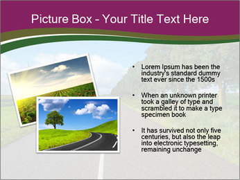 Road after rain PowerPoint Templates - Slide 20