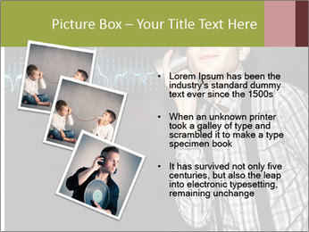 Cute Little Vintage Boy PowerPoint Templates - Slide 17
