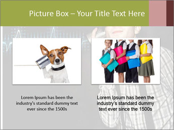 Cute Little Vintage Boy PowerPoint Templates - Slide 18