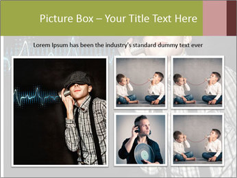 Cute Little Vintage Boy PowerPoint Templates - Slide 19