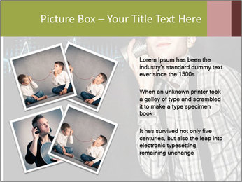 Cute Little Vintage Boy PowerPoint Templates - Slide 23