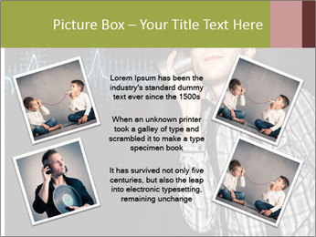 Cute Little Vintage Boy PowerPoint Templates - Slide 24