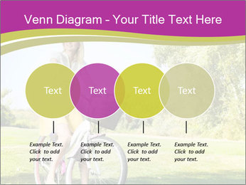 Woman riding a bicycle PowerPoint Templates - Slide 32