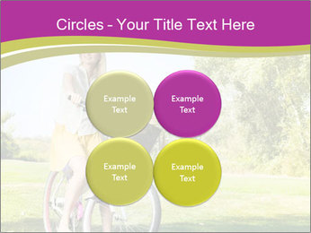 Woman riding a bicycle PowerPoint Templates - Slide 38