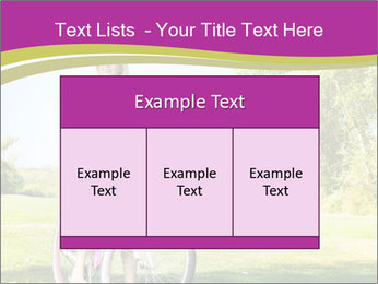 Woman riding a bicycle PowerPoint Templates - Slide 59