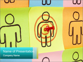 Target Your Customers PowerPoint Templates - Slide 1
