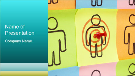 Target Your Customers PowerPoint Template