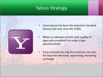 Electricity pylons PowerPoint Template - Slide 11