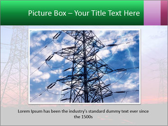 Electricity pylons PowerPoint Template - Slide 16
