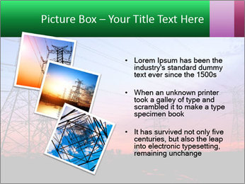 Electricity pylons PowerPoint Template - Slide 17
