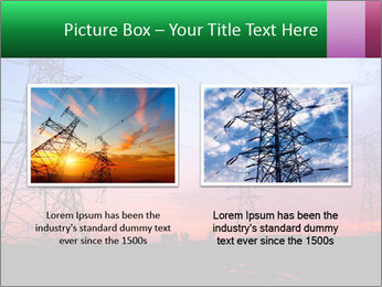 Electricity pylons PowerPoint Template - Slide 18
