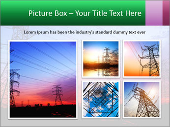 Electricity pylons PowerPoint Template - Slide 19