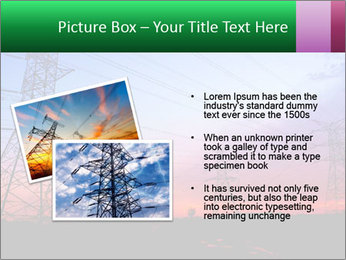 Electricity pylons PowerPoint Template - Slide 20