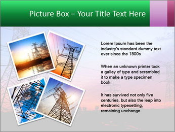 Electricity pylons PowerPoint Template - Slide 23