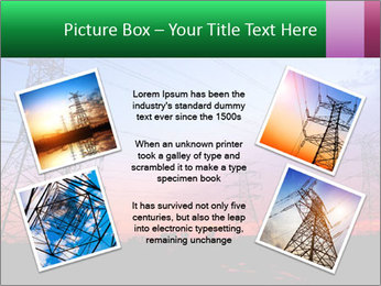 Electricity pylons PowerPoint Template - Slide 24